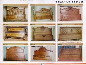 Ranjang Kayu Jati Murah MPB 231-239 Ready Stock