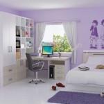 Set Tempat Tidur Anak Nuansa Ungu