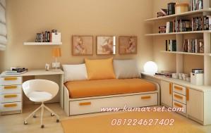 Set Tempat Tidur Anak Super Minimalis Laki-Laki