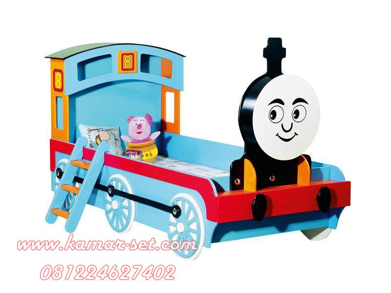 Tempat Tidur Anak Karakter Kereta Thomas