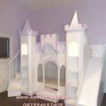 Tempat Tidur Anak Prosotan Model Kastil Impian Elleanor