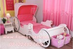 Tempat Tidur Kereta Princess Cinderella