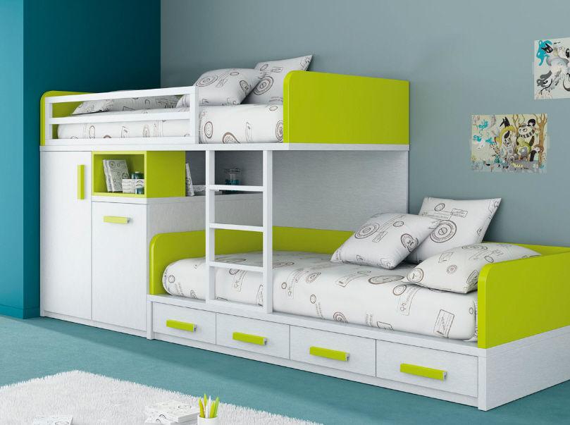 Tempat Tidur Tingkat Minimalis Panjang