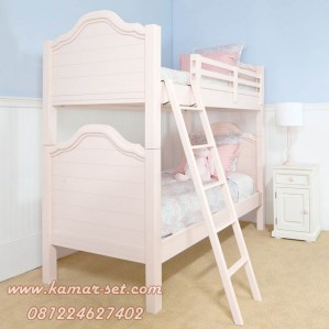 Jual Tempat Tidur Anak Tingkat Klasik Ukiran