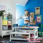 Set Meja Belajar Anak Balita With Rak Buku