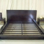 Tempat Tidur Minimalis Jati Solid