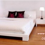 Tempat Tidur Set Minimalis Pendek Elegan KSM-203