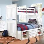Tempat Tidur Susun Tingkat Anak Perempuan Berlaci