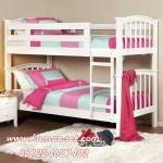 Tempat Tidur Anak Perempuan Manis Minimalis Tingkat