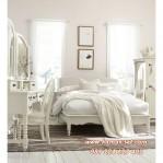 Set Dipan Remaja Perempuan Klasik Putih Sandra