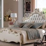 Set Kamar Tidur Mewah Mawar Putih