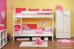 Set Ranjang Tingkat Anak Putri Minimalis