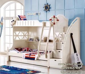 New Desain Tempat Tidur Anak Susun KSTTT-303
