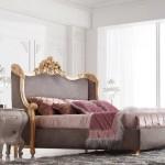 Tempat Tidur Utama Kamar Luas Mewah Klasik