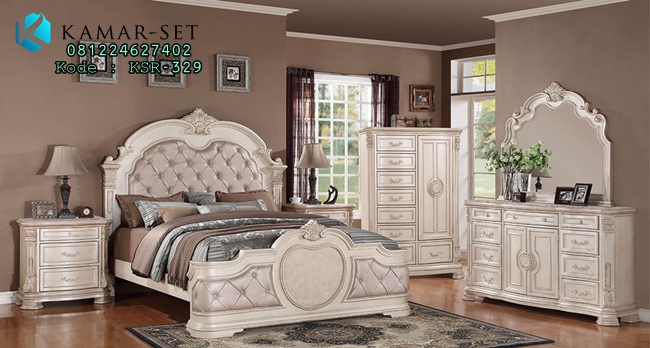 Set Kamar Tidur Antique Vanity