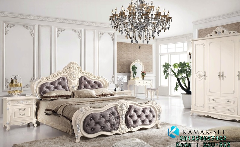 Set Kamar Tidur Mewah Romansa Klasik