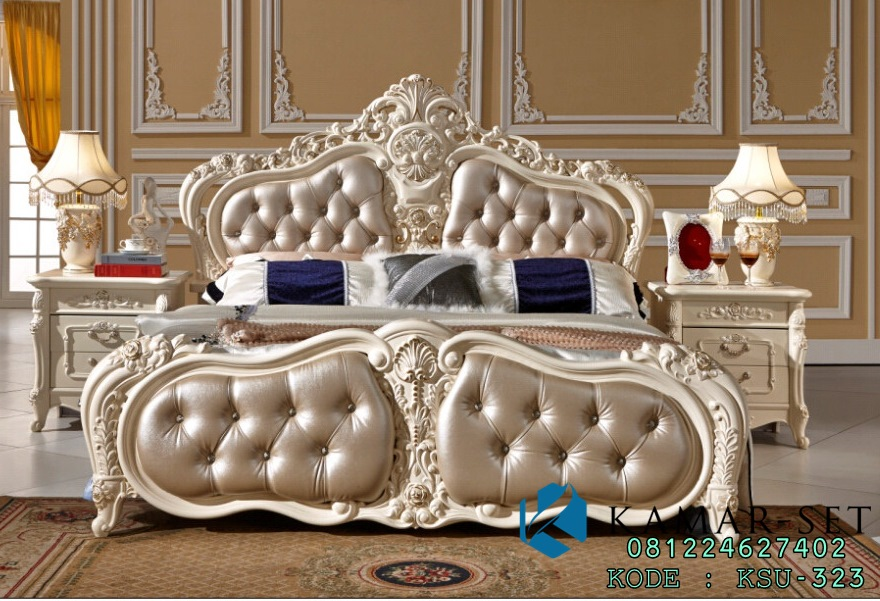 Tempat Tidur Syahrini Klasik Eropa KSU-323