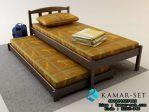 Tempat Tidur Asrama Sorong Single