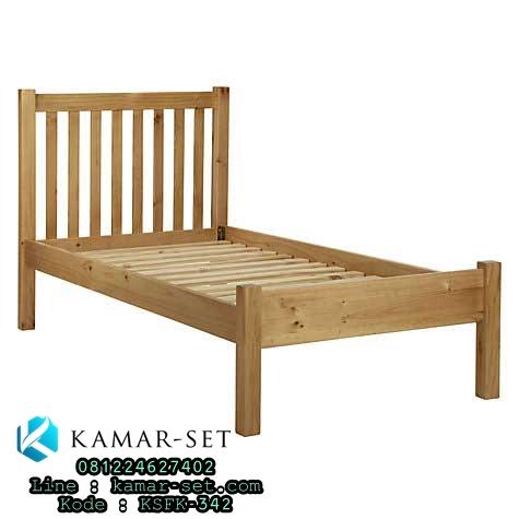 Tempat Tidur Murah Sederhana Simple Jari-Jari