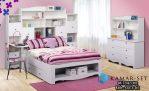 Set Kamar Anak Perempuan Putih Duco KSKTA-361