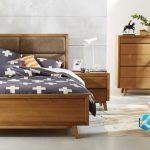 Set Tempat Tidur Minimalis Gaya Retro