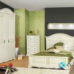 Tempat Tidur Anak Putih Klasik Modern KSKTA-386