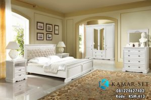 Set Tempat Tidur Minimalis Klasik Modern KSM-413