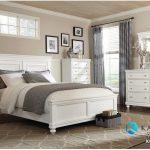 Set Tempat Tidur Putih Minimalis Klasik Modern KSM-417