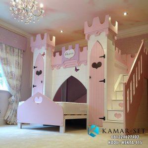 Tempat Tidur Kastil Anak Perempuan Alexa