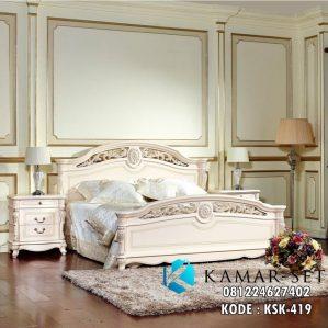Tempat Tidur Ukir Elegan KSK-419