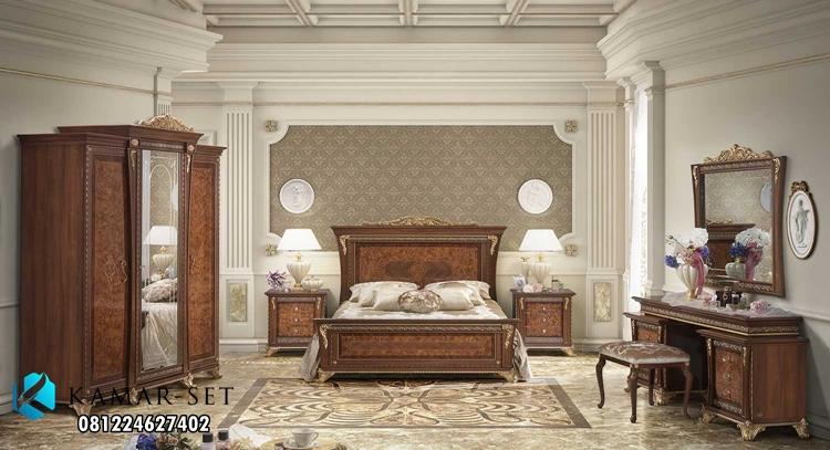 Set Kamar Tidur Klasik Eropa Mewah Aida Note