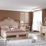 Kamar Set Ukir Klasik Eropa Mewah Gold Krem