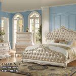 Set Tempat Tidur Klasik Warna Krem KSK-432