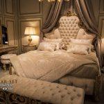 Tempat Tidur Pengantin Mewah Klasik Victorian KSK-347