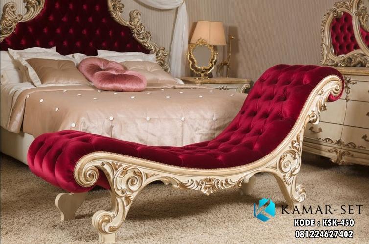 Sofa Kamar Tidur Klasik Carleta KSK-450