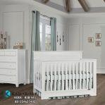Tempat Tidur Bayi Boy Warna Putih Duco