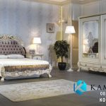 Set Tempat Tidur Kasur Mewah Ukir Klasik KSK-451