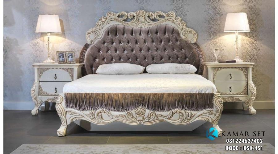 Tempat Tidur Klasik Mewah Terbaru