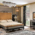 Set Tempat Tidur Mewah Klasik KSK-454 , Kamar Set Klasik Modern, Tempat Tidur Klasik Eropa, Kamar Set Pengantin, Set Kamar Tidur Ukir , Set Tempat Tidur Jati Mebel Jepara, Set Kamar Tidur Elegan Terbaru