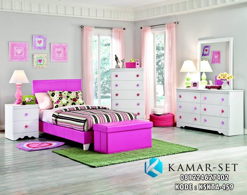 Set Tempat Tidur Anak Minimalis Savanah Murah KSKTA-459