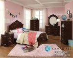 Set Tempat Tidur Anak Perempuan Klasik KSKTA-456