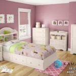 Tempat Tidur Anak Putih Klasik Modern KSKTA-457