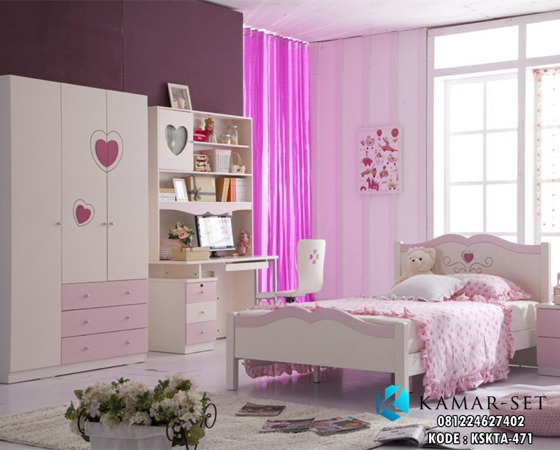Kamar Set Anak Princess Lovely