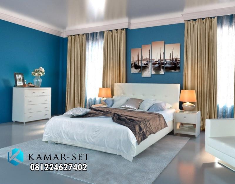 Kamar Set Minimalis Simple Warna Putih Elegan