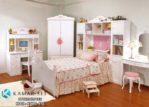 Set Tempat Tidur Anak Perempuan Klasik KSKTA-470