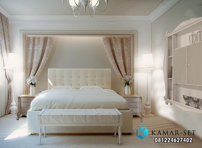Tempat Tidur Mewah Model Klasik Modern