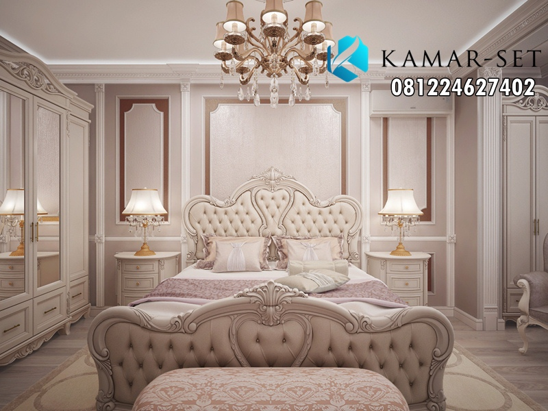 Tempat Tidur Mewah Model Ukir Modern