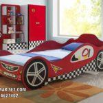Dipan Anak Mobil Red Car