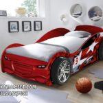 Model Tempat Tidur Anak Bentuk Mobil Red Car