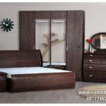 Tempat Tidur Minimalis Satu Set Lengkap